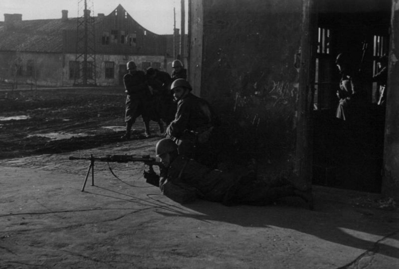 Бой за город. 29 октября 1941 г.