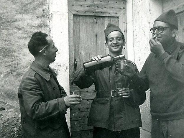Солдаты 3-й французской армии на фронте. Ноябрь 1939 г.