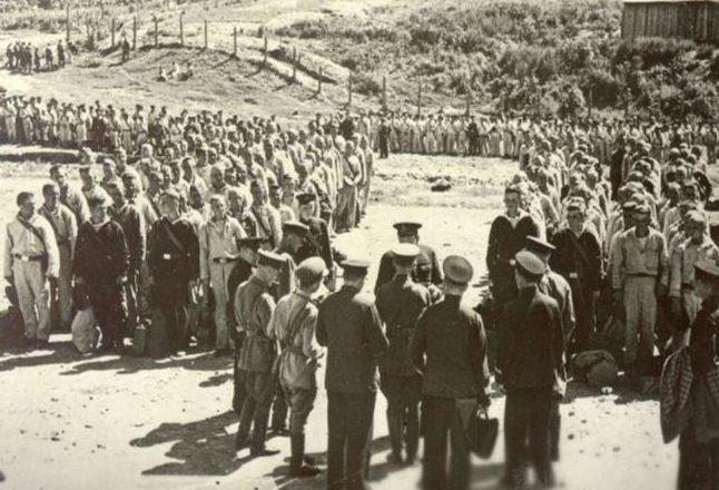 Отправка моряков-тихоокеанцев на Западный фронт. 24 июня 1941 г.