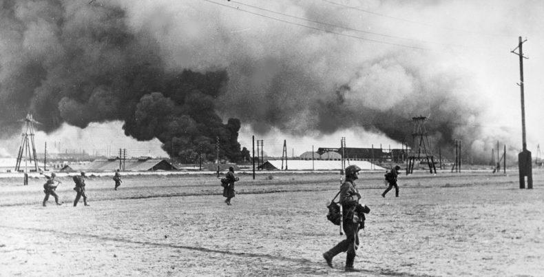 Немцы в пригороде Таганрога. Октябрь 1941 г.