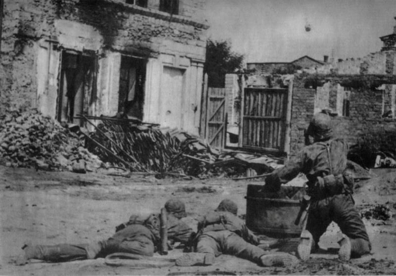 Бой в городе. Октябрь 1941 г.