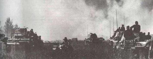 Немцы в окрестностях города. 12-15 июля 1941 г.