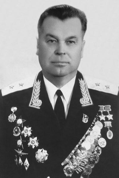 Генерал-лейтенант авиации Алексеенко. 1971 г.