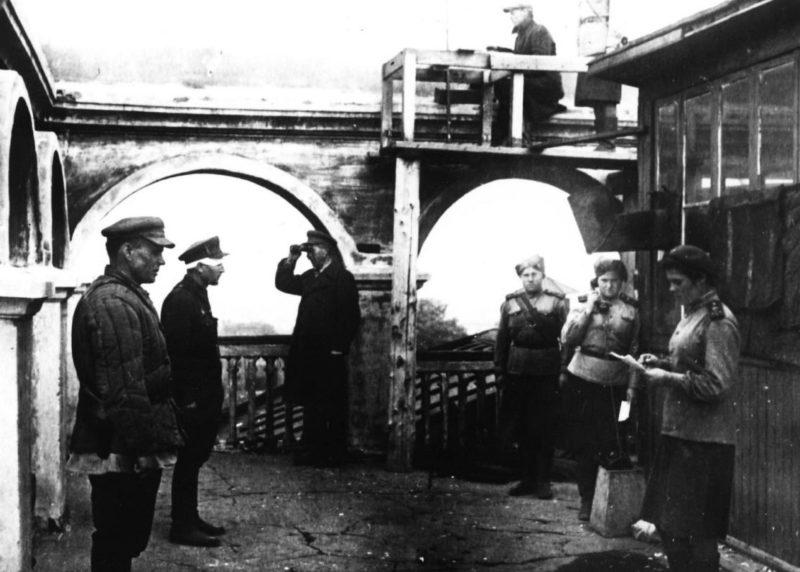 Местная МПВО Центрального района. Октябрь 1941 г.