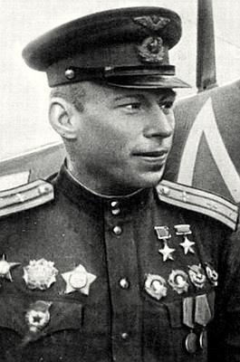 Дважды Герой Советского Союза Алелюхин. 1943 г.