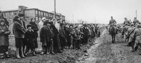 Вступление немцев в Сталино. 20 октября 1941 г.