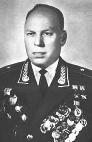 Генерал-майор авиации Алелюхин. 1985 г.
