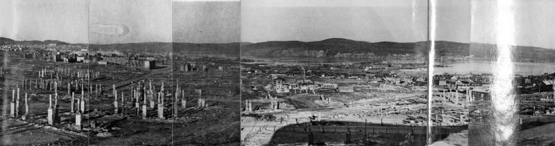 Панорама Мурманска. Июнь 1942 г.