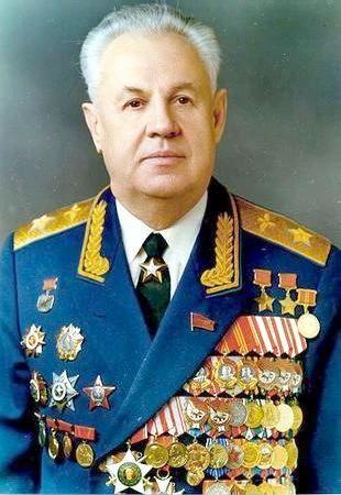 Маршал авиации Ефимов. 1975 г.