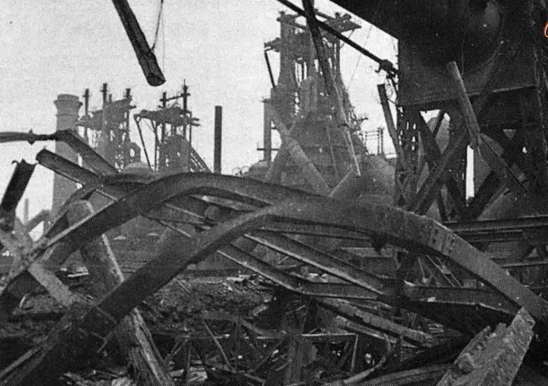 Металлургический завод. Осень 1941 г.