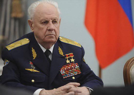 Маршал Ефимов. 2000 г.