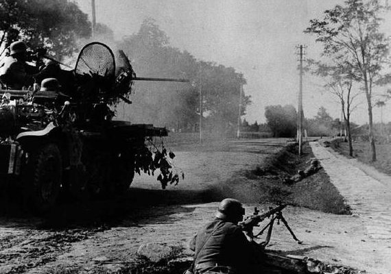 Уличные бои в Смоленске. 14-20 июля 1941 г.