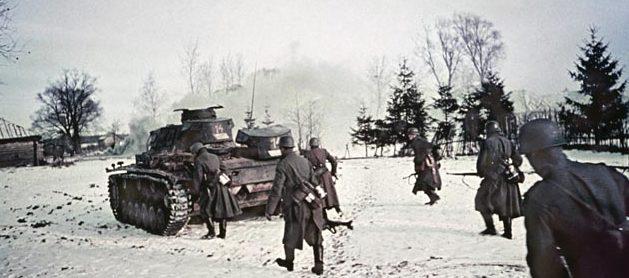 Немецкий штурм Тулы. Ноябрь 1941 г.
