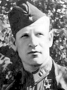 Герой Советского Союза майор Зайцев. 1942 г.