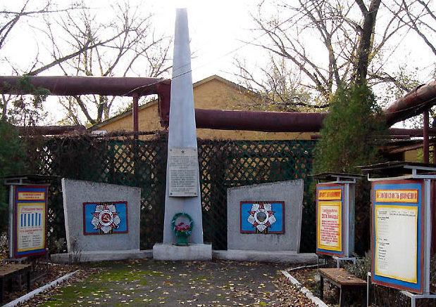 г. Сальск. Памятник погибшим заводчанам вагоноремонтного депо СКЖД.
