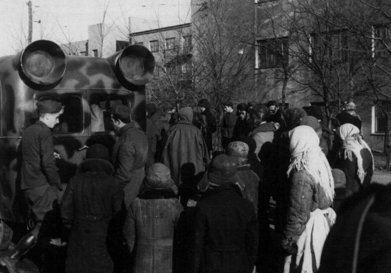 Итальянские агитмашины. 1941 г.
