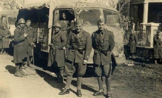 Итальянские войска вторгаются в Югославию. Апрель 1941 г.