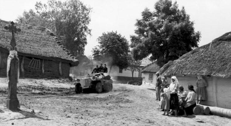 Немецкие войска вторгаются в Югославию. Апрель 1941 г.