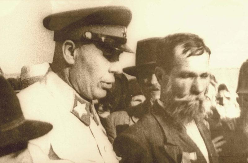 Маршал Тимошенко в Бессарабии. Июль 1940 г.