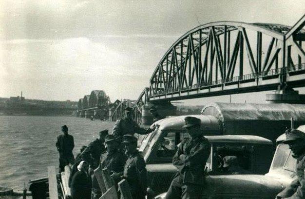 Переправа немецких войск в Белграде. Апрель 1941 г.
