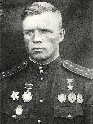 Герой Советского Союза капитан Клубов. 1944 г.