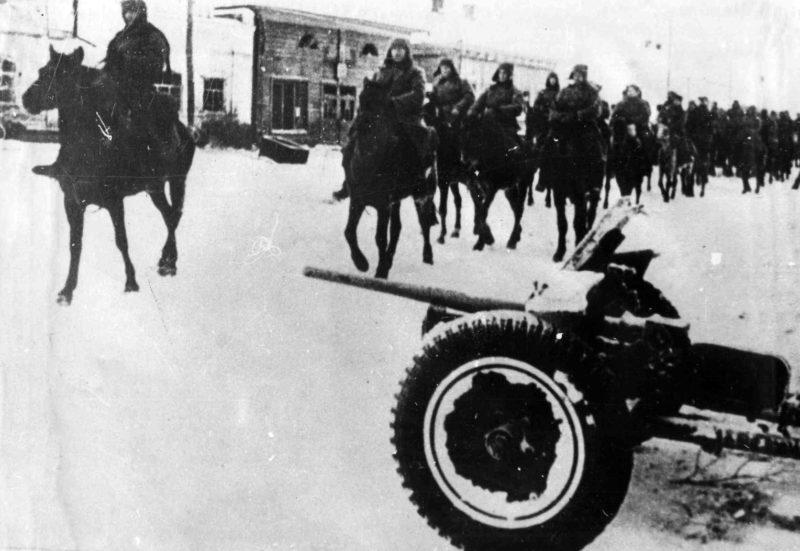 Защитники города. Декабрь 1941 г.