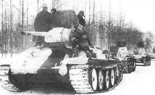 Красная армия в контрнаступлении. Декабрь 1941 г.