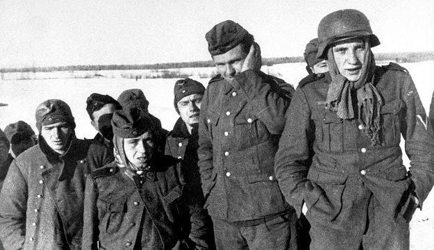 Первые военнопленные немцы в Туле. Январь 1941 г.