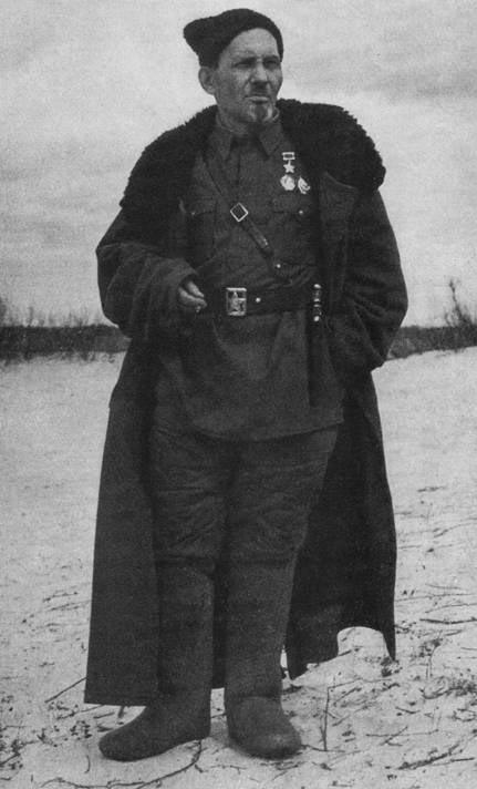 Герой Советского Союза генерал-майор Ковпак. 1943 г.