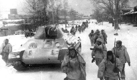 Дорога на фронт. Январь 1941 г.