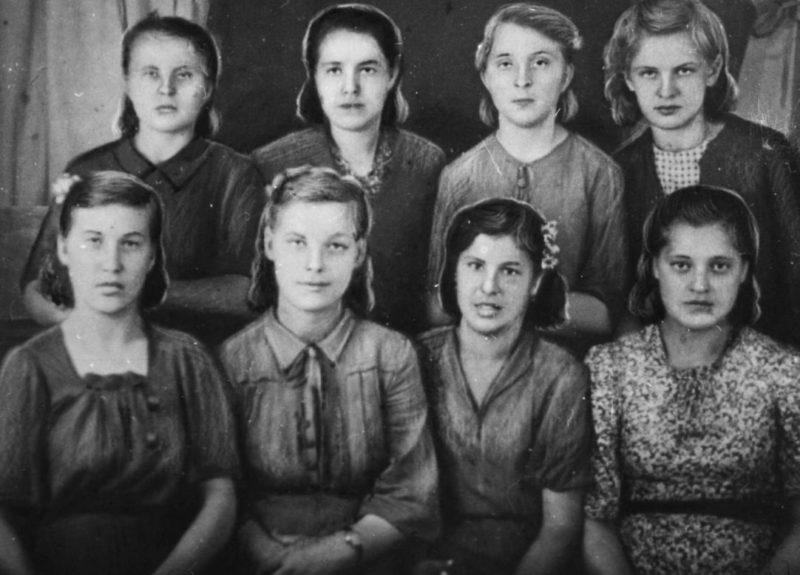 Фронтовая комсомольско-молодежная бригада «Молодая Гвардия». Январь 1941 г.