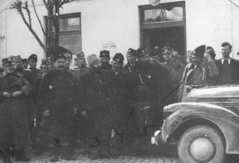 Четники на службе у немцев. Январь 1942 г.