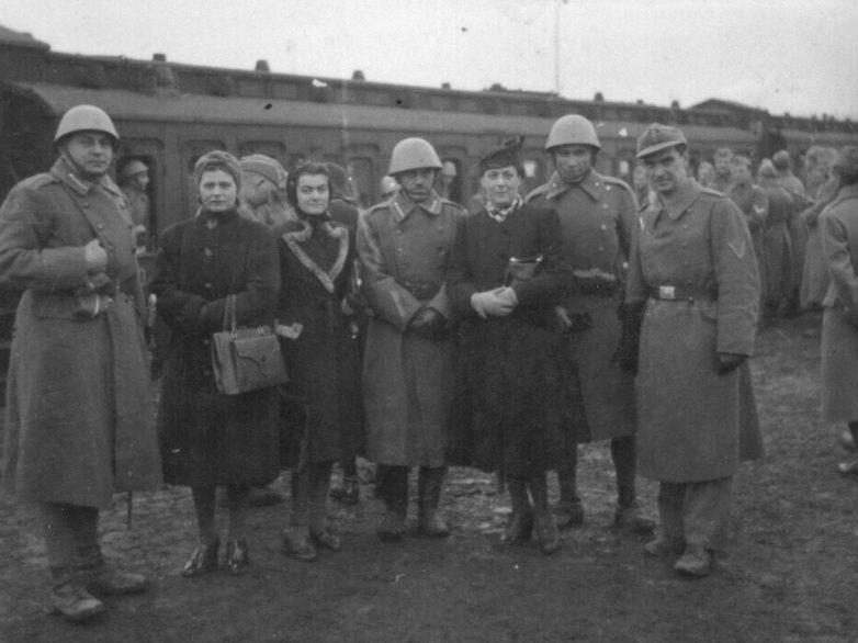 Бойцы Русского охранного корпуса в Югославии. Октябрь 1942 г.