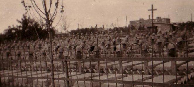 Итальянское кладбище на Северном. Сентябрь 1943 г.