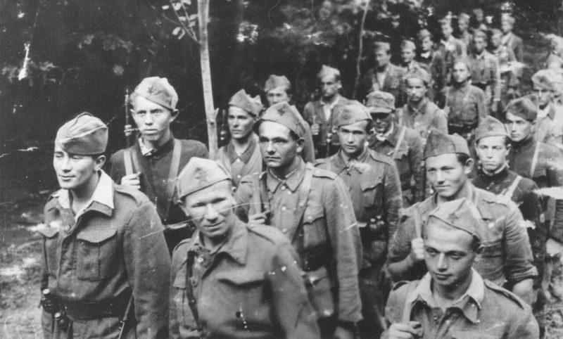 Диверсионный батальон Славонского партизанского корпуса. Лето 1943 г.