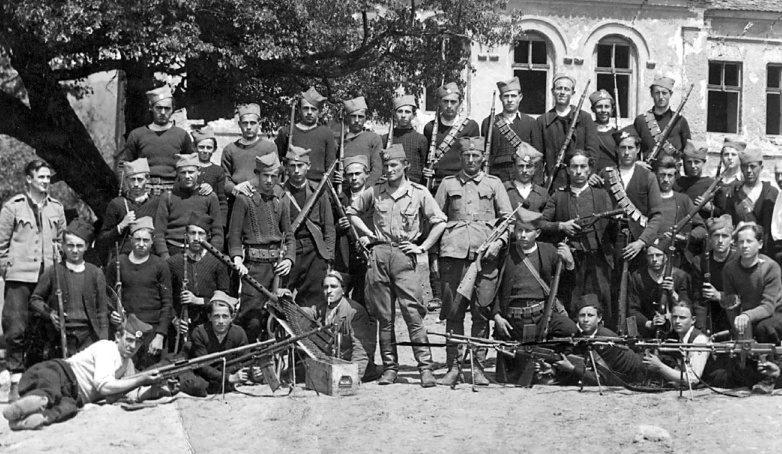 Четники Тимокского корпуса. 1943 г.