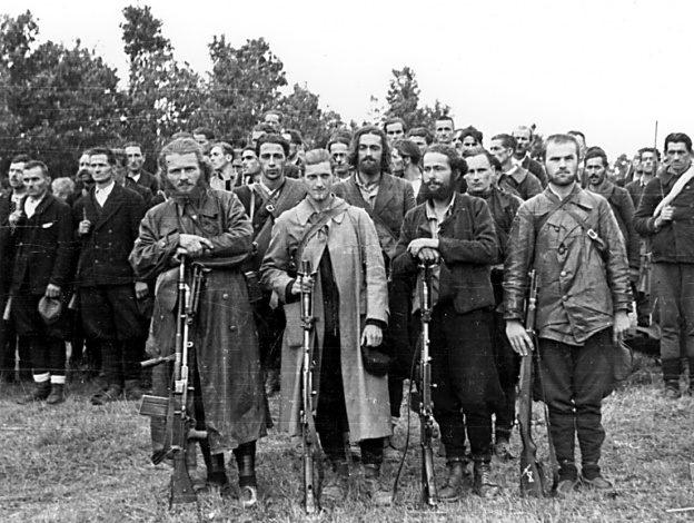 Четники Второго Равногорского корпуса. 1943 г.