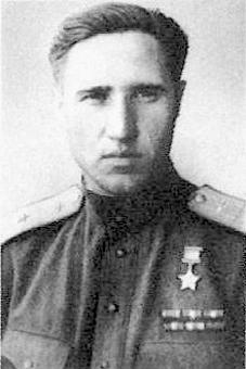 Герой Советского Союза капитан Колдунов. 1944 г.