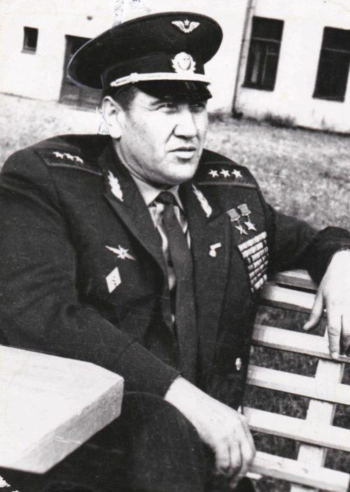 Генерал-полковник Колдунов. 1975 г.