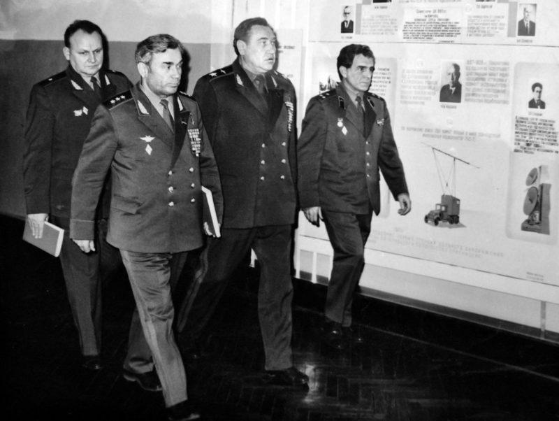 Главнокомандующий ПВО СССР Колдунов. 1987 г.