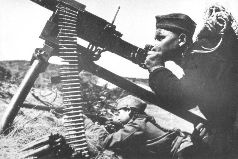 Бой за Велес. 1944 г.