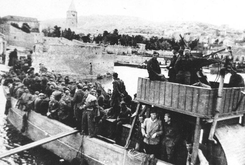 Рейд югославских партизан на остров Корчула. Апрель 1944 г.