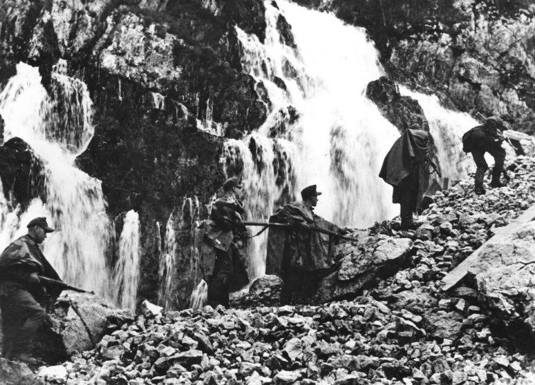 Войска СС в горах Балкан. Сентябрь 1944 г.