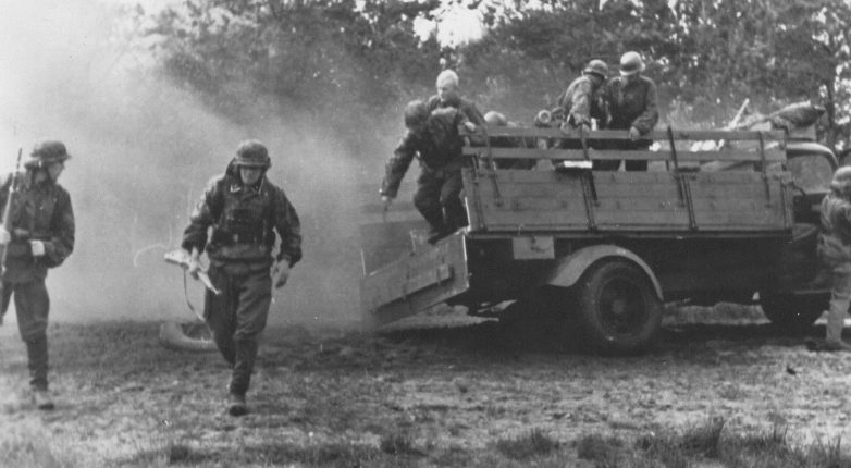 Карательная операция войск СС против партизан. Сентябрь 1944 г.