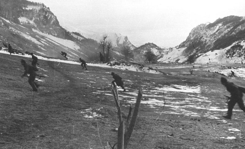 Бой в Черногории. 1944 г.