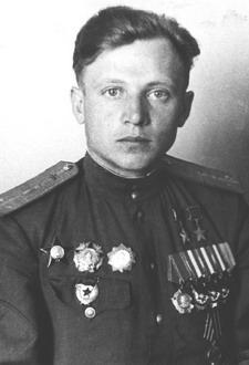 Капитан Кунгурцев. 1945 г.