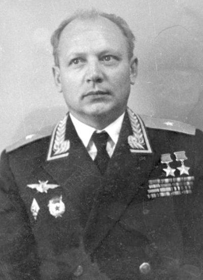Генерал-майор Кунгурцев. 1970 г.