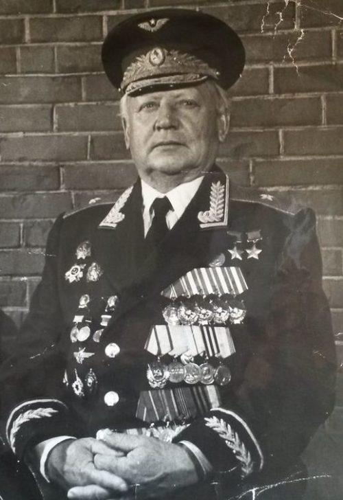 Генерал Кунгунцев в отставке. 1995 г.