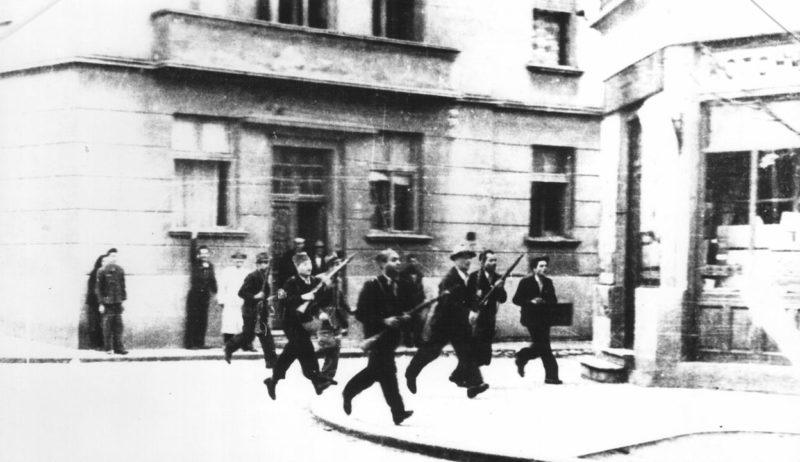 Уличные бои за освобождение Белграда. Октябрь 1944 г.