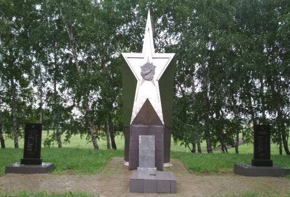 х. Веселый Родионово-Несветайского р-на. Памятник советским воинам.